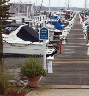 Docks at Bowleys Marina