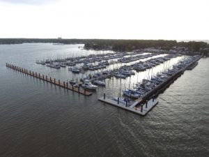 Fuel Dock at Bowleys Marina